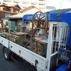 千葉の自動カンナ盤、バーチカルサンダー、集塵機、帯のこ盤など木工機械を工場一式即日引き取り